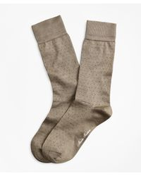 Brooks Brothers - Polka Dot Crew Socks - Lyst