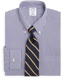 Brooks Brothers - Non-iron Regent Fit Bengal Stripe Dress Shirt - Lyst
