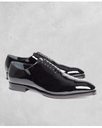 Brooks Brothers - Golden Fleece® Patent Leather Formal Shoes - Lyst