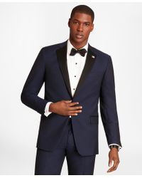 Brooks Brothers Regent Fit One-button Navy Tuxedo - Blue