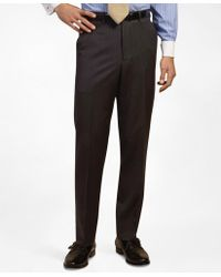 Brooks Brothers - Plain-front Suiting Essential Stripe Trousers - Lyst