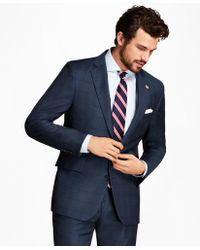 Brooks Brothers | Regent Fit Plaid With Deco 1818 Suit | Lyst