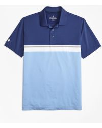 Brooks Brothers - Performance Series Placed Stripe Polo Shirt - Lyst