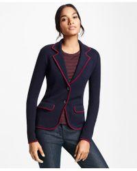 Brooks Brothers - Knit Merino Wool Rowing Blazer - Lyst