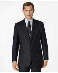 Brooks Brothers - Regent Fit Saxxontm Wool Tic 1818 Suit - Lyst