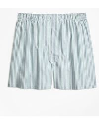 Brooks Brothers - Traditional Fit Split Stripe Boxers - Lyst