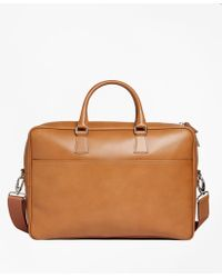 Brooks Brothers | Leather Briefcase | Lyst