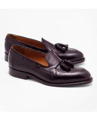 Brooks Brothers - Cordovan Tassel Loafers - Lyst