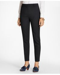 Brooks Brothers - Slim-fit Wool Trousers - Lyst