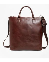 Brooks Brothers - Soft Leather Tote - Lyst