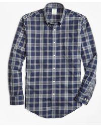 Brooks Brothers - Non-iron Milano Fit Brooks Bothers Signature Tartan Sport Shirt - Lyst