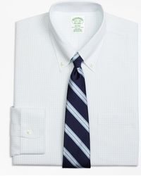 Brooks Brothers - Non-iron Milano Fit Graph Check Dress Shirt - Lyst