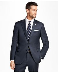 Brooks Brothers - Madison Fit Tic 1818 Suit - Lyst