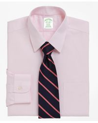 Brooks Brothers Extra Slim Slim-fit Dress Shirt - Pink