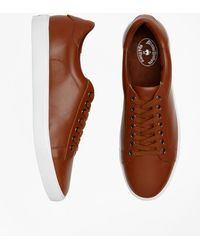 Brooks Brothers - Leather Sneakers - Lyst