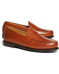 Brooks Brothers - Classic Penny Loafers - Lyst
