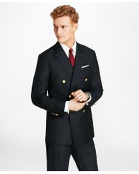 Brooks Brothers - Country Club Milano Fit Saxxontm Wool Double-breasted Blazer - Lyst
