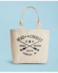 Brooks Brothers - 2018 Head Of The Charles® Regatta Canvas Tote Bag - Lyst