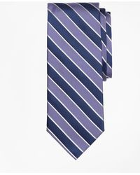 Brooks Brothers - Framed Alternating Stripe Tie - Lyst