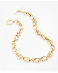 Brooks Brothers Gold-plated Chain Necklace - Metallic