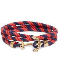 Brooks Brothers | Kiel James Patrick Lanyard Hitch Cord Bracelet | Lyst