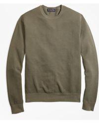 Brooks Brothers - Garment-dyed Crewneck Jumper - Lyst