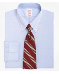 Brooks Brothers | Non-iron Madison Fit Button-down Collar Dress Shirt | Lyst
