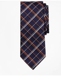 Brooks Brothers - Double Alternating Windowpane Tie - Lyst