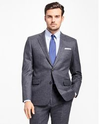 Brooks Brothers | Regent Fit Stretch Flannel 1818 Suit | Lyst
