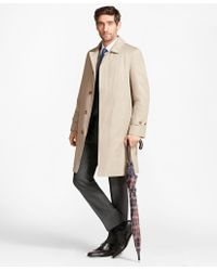 Brooks Brothers - Single-breasted Trench Coat - Lyst