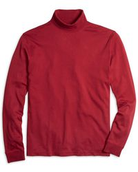 Brooks Brothers - Supima® Cotton Turtleneck - Lyst