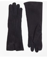 Brooks Brothers - Shearling Fur Gloves - Lyst