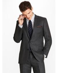 Brooks Brothers - Regent Fit Stretch Flannel 1818 Suit - Lyst