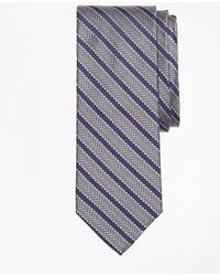 Brooks Brothers - Dot Framed Stripe Tie - Lyst