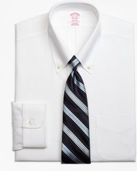 Brooks Brothers - Non-iron Madison Fit Button-down Collar Stretch Dress Shirt - Lyst