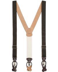 Brooks Brothers - Tweed Suspenders - Lyst