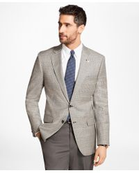 Brooks Brothers | Madison Fit Saxxon Wool Check With Deco Sport Coat | Lyst