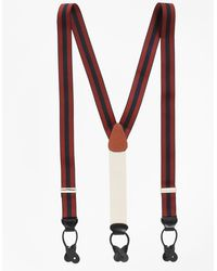 Brooks Brothers | Striped Suspenders | Lyst
