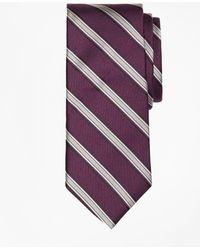 Brooks Brothers - Twill Framed Stripe Tie - Lyst