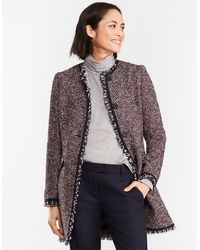 Brooks Brothers - Boucle Coat - Lyst