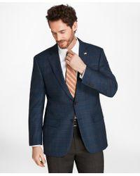Brooks Brothers - Madison Fit Saxxontm Wool Plaid Sport Coat - Lyst