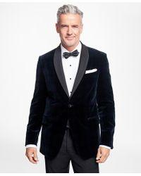 Brooks Brothers - Regent Fit Black Watch Shawl Collar Tuxedo Jacket - Lyst
