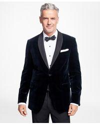 Brooks Brothers - Slim Fit Black Watch Shawl Collar Tuxedo Jacket - Lyst