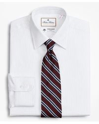 Brooks Brothers Luxury Collection Madison Classic-fit Dress Shirt - White