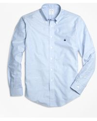 Brooks Brothers - Non-iron Regent Fit Oxford Sport Shirt - Lyst