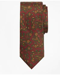 Brooks Brothers - Ancient Madder Paisley Print Tie - Lyst