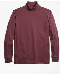 Brooks Brothers | Supima® Cotton Turtleneck | Lyst