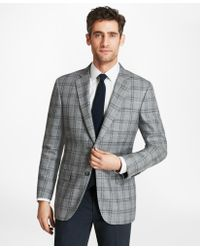 Brooks Brothers - Madison Fit Plaid With Deco Sport Coat - Lyst
