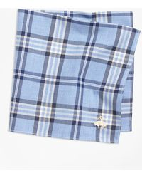 Brooks Brothers - Tartan Pocket Square - Lyst