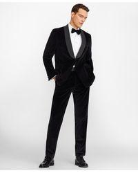 Brooks Brothers - Slim Fit Shawl Collar Velvet Tuxedo - Lyst